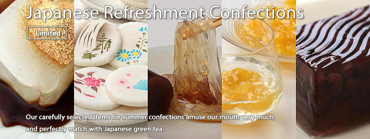 Japanese Refreshment Confections (Summer)