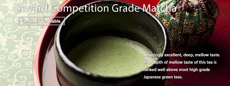 Competition Grade Matcha is Now Available