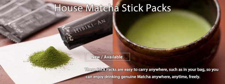 House Matcha Stick Packs